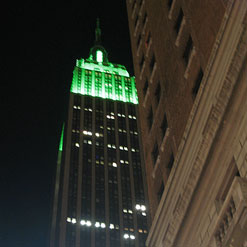 Empire State Building on Eid 2007