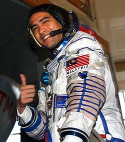 Muslim Astronaut Shukor