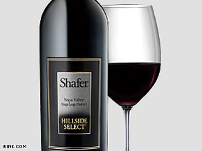 Shafer Cafernet Hillside Select wine at $500 a bottle