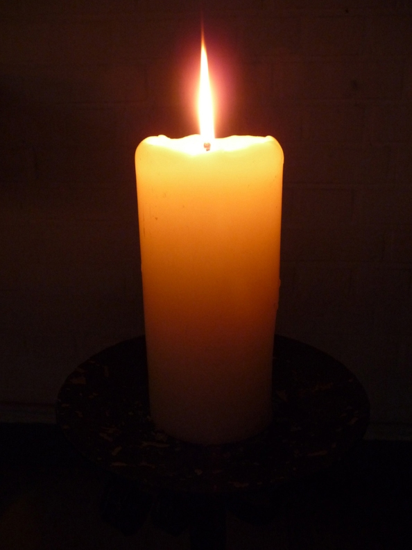 A candle for those innocent people slain at Sandy Hook Elementary School. May you rest in peace.