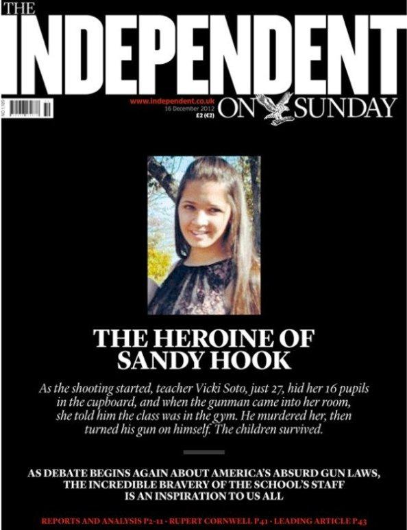 The heroine of Sandy Hook